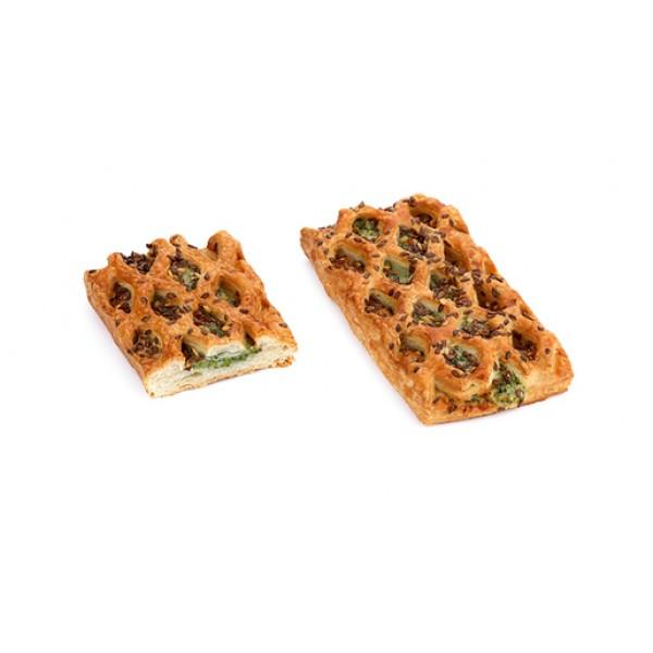 La Lorraine Broccoli & Cheese Lattice - 5 Pieces/Packet (100Gms/Piece)