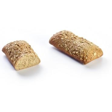 La Lorraine Ciabatta Snack Multicereals-5 Pieces/Packet (125 +/- 15 Gms/Piece)