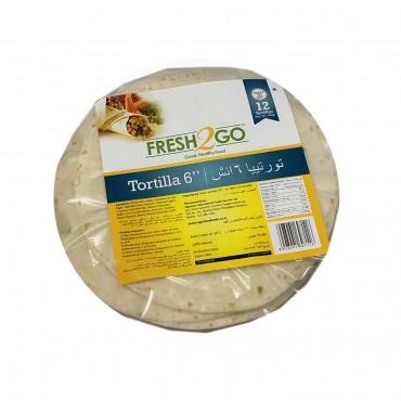 FROZEN TORTILLA 6 INCH-12 Pieces/Packet(30 Gms/Piece)