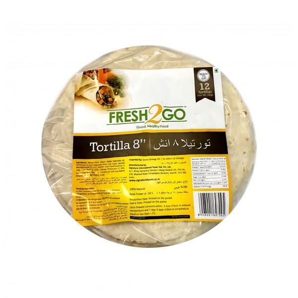 FROZEN TORTILLA 8 INCH-12 Pieces/Packet(45 Gms/Piece)