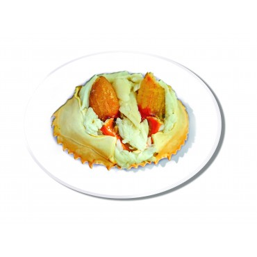 COOKED STUFFED CRABMEAT IN SHELL-720 grams (12 Crabs)