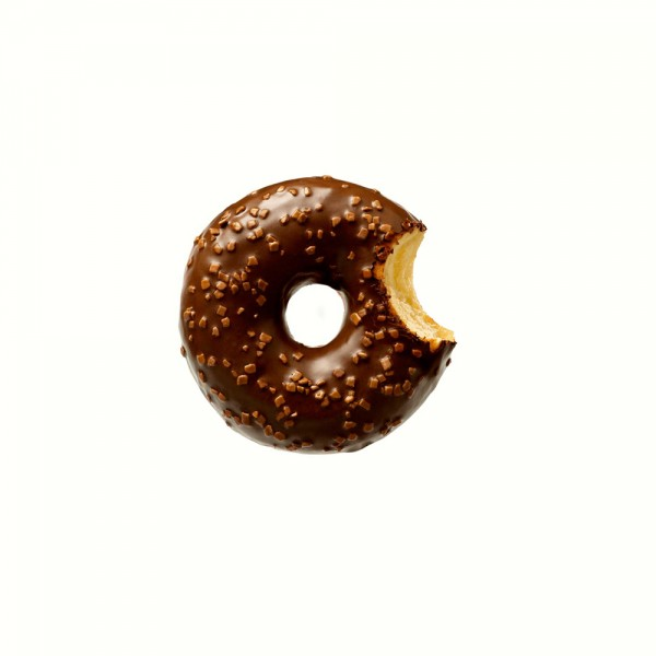 La Lorraine Choc Almighty - Donut Cocoa and Belgian Chocolate Deco - 4 x 56grams Donuts/Pack