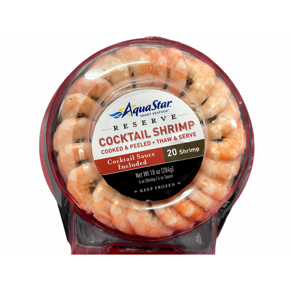 FROZEN AQUASTAR Shrimp Ring 284g
