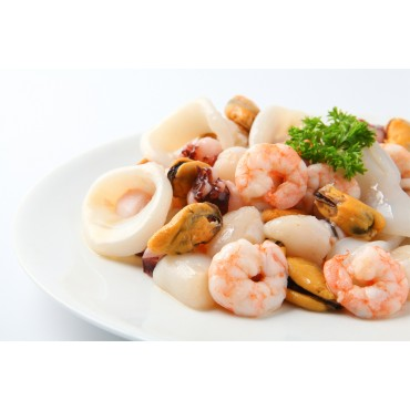 FROZEN SEAFOOD MIX-500 Gm